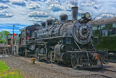Photograph - American Locomotive Works 40 by Mike Martin
