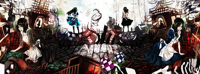 Design Wall Art - Digital Art - American Mcgee's Alice by Super Lovely