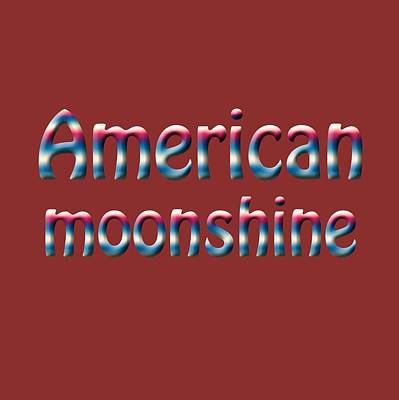 Photograph - American Moonshine by Bill Owen