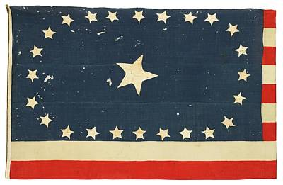 Arkansas Painting - American National Flag Commemorating Arkansas by MotionAge Designs