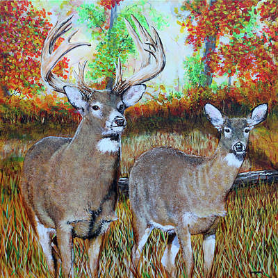 Painting - American Nature Gothic by Karl Wagner