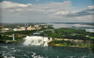 Photograph - American Niagara Falls #2 by Ginger Wakem