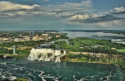 Photograph - American Niagara Falls  by Ginger Wakem