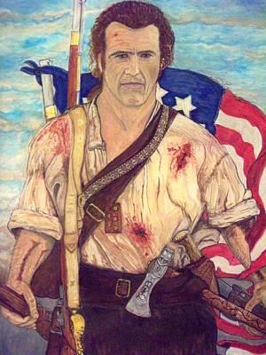 American Patriot Art Print by Jose Cabral