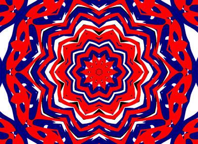 Kaleidoscope 5555 Art Print