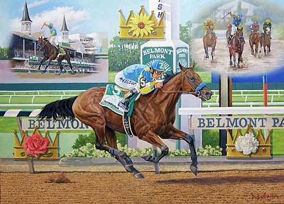 Painting - American Pharoah by Howard DUBOIS