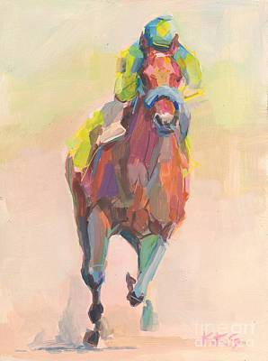 Thoroughbred Painting - Champion by Kimberly Santini