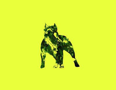 American Pit Bull Terrier 1d                     Art Print