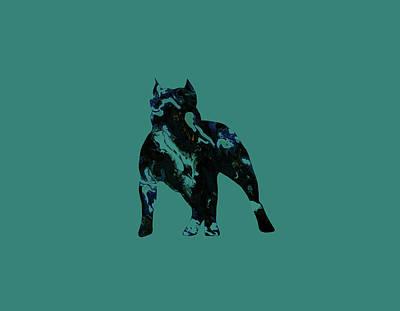 American Pit Bull Terrier 1e                     Art Print