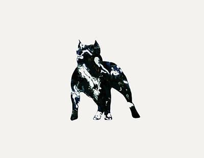 American Pit Bull Terrier 1g                     Art Print