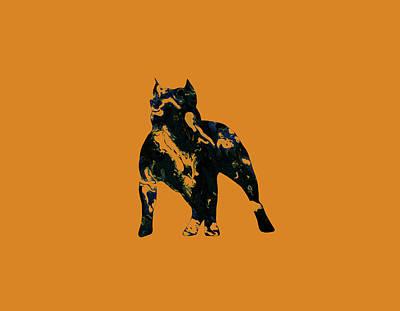American Pit Bull Terrier 1h                   Art Print