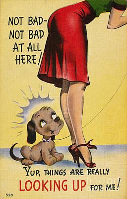 Photograph - American Postcard, C1950 by Granger