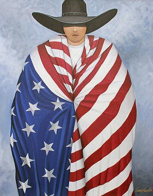 Painting - American Pride 2 by Lance Headlee