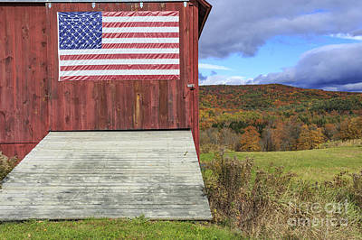 Fall Foliage Photograph - American Pride by Edward Fielding