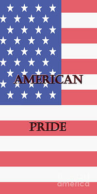 Photograph - American Pride by Judy Hall-Folde