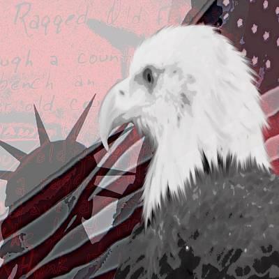 Digital Art - American Pride by Laurie Pike