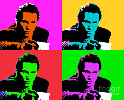 Digital Art - American Psycho Pop Art by Jean luc Comperat