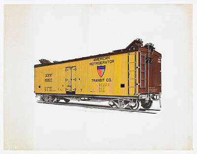 Photograph - American Refrigerator Transit  Reefer by Missouri Pacific Historical Society