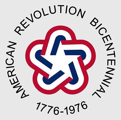 July 4 Mixed Media - American Revolution Bicentennial by Otis Porritt