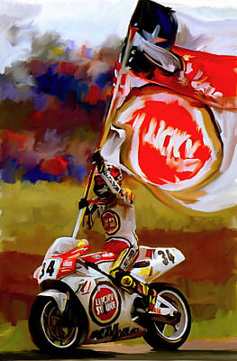 Kevin Painting - American Revolution I Kevin Schwantz by Iconic Images Art Gallery David Pucciarelli