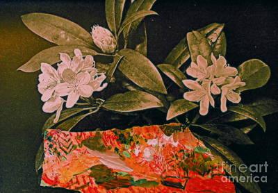 Digital Art - American Rhododendron by Nancy Kane Chapman