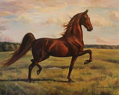 American Saddlebred Art Print