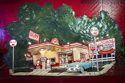 Coca-cola Signs Photograph - Scenes Along The Road by Jon Berghoff