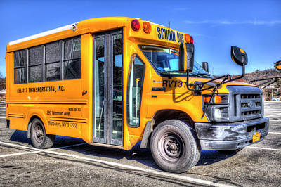 Photograph - American School Bus by David Pyatt
