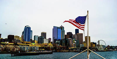Photograph - American Seattle Ic by D Justin Johns