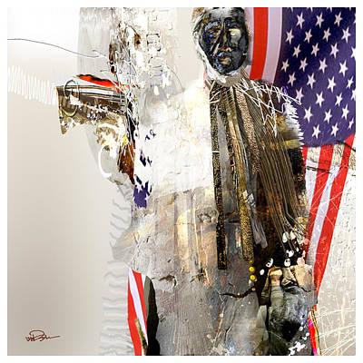 American Shaman 4 Art Print by James VerDoorn