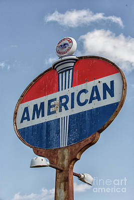 Photograph - American Sign by Patricia Hofmeester