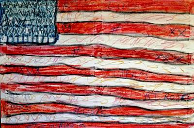 Mixed Media - American Social by Paulo Guimaraes