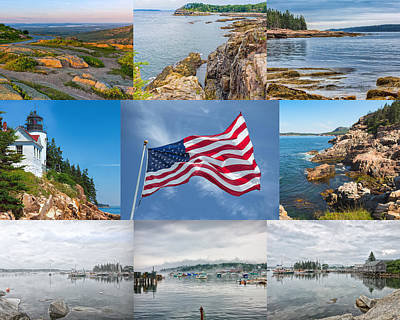 Photograph - American Splendor - Maine by John M Bailey
