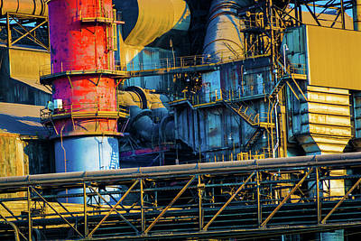 Photograph - American Steel by Stewart Helberg