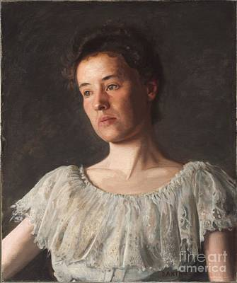 Philadelphia Pa Painting - American  Title Miss Alice Kurtz by MotionAge Designs