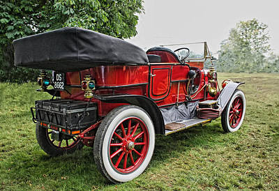 Stanleys Steamers Photograph - American Vintage Steam Car by Paul Williams