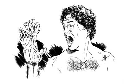American Werewolf Original by Reggy Hafkenscheid