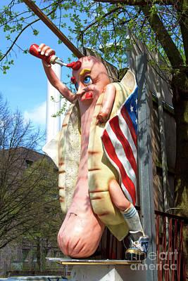 Photograph - American Wiener In Berlin by John Rizzuto