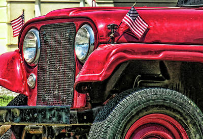 American Willys Art Print