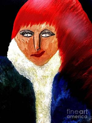 Painting - American Woman by Robin Lewis