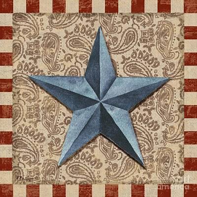 Americana Painting - Americana Barn Star II by Paul Brent