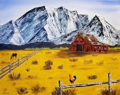 Painting - Americana - Plains Of Colorado by Bev Conover
