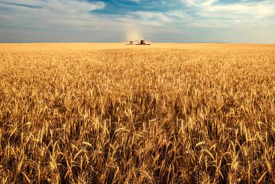 Machinery Photograph - America's Breadbasket by Todd Klassy