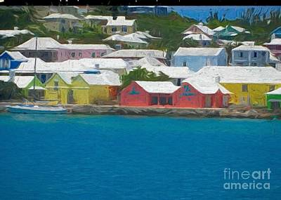Photograph - America's Cup Coast In Bermuda by Luther Fine Art