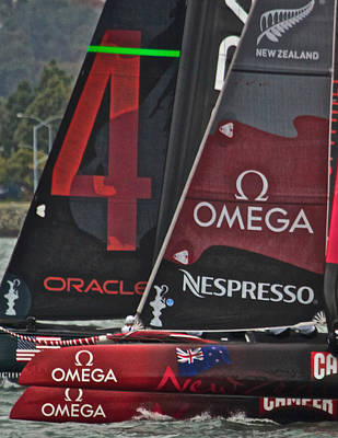 Photograph - America's Cup World Series 2011 by Steven Lapkin