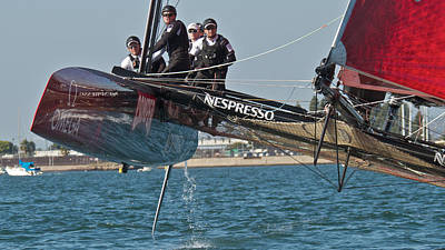 Photograph - America's Cup World Series by Steven Lapkin