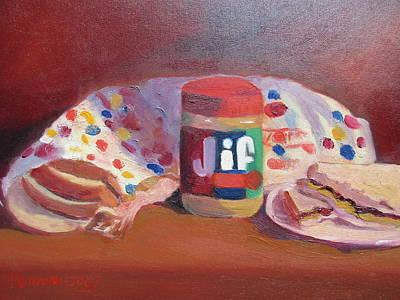 America's Favorite Sandwich Art Print by Maureen Obey