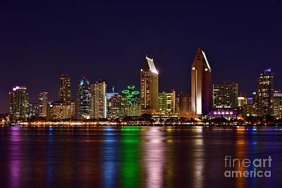 Photograph - America's Finest City San Diego by Jonathan Bayani