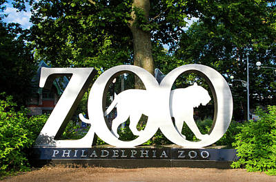 Photograph - Americas First Zoo - Philadelphia Zooiligical Society by Bill Cannon