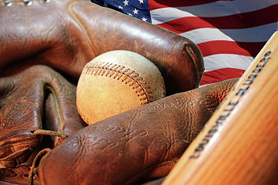 Photograph - Americas Pastime by Pat Cook